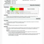 Project Status Report Template Word 2010