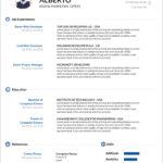 Cv Templates Download Microsoft Word