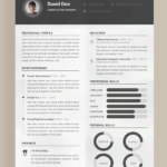 Resume Templates Adobe