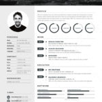 Resume Templates Adobe Illustrator