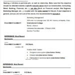 Resume Templates And Examples