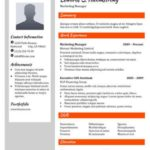 Resume Templates Compatible With Google Docs