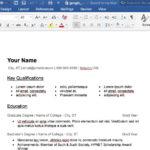 Resume Templates Google Docs Free