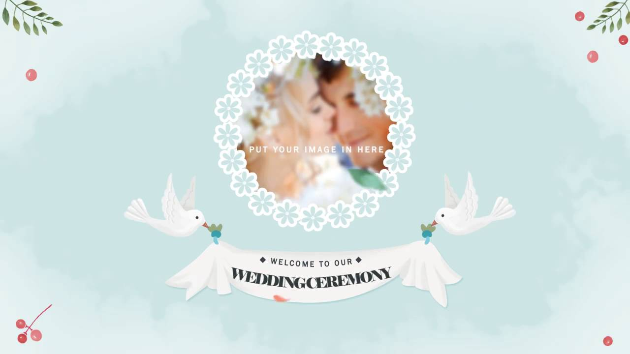 Wedding Invitation Templates After Effects