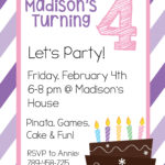 Invitation Templates Birthday