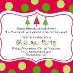 Invitation Templates Christmas