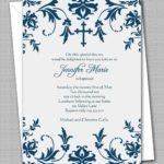 Invitation Templates Communion