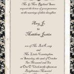 Invitation Templates Customizable