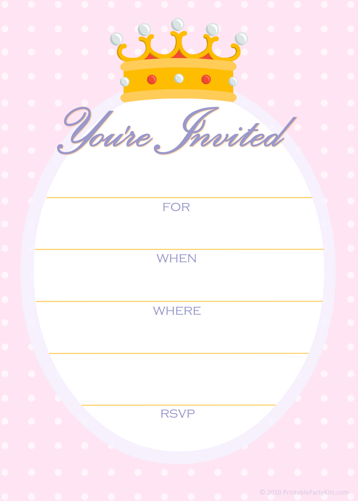 Invitation Templates Download