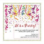 Invitation Templates Free Download