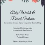 Invitation Templates for Free