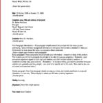 Letter Template Address