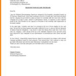 Letter Template Asking for Raise