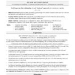 Resume Templates Accounting