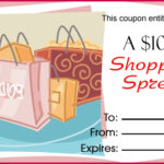 Shoe Shopping Gift Certificate