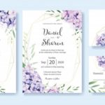 Wedding Invitation Templates Vector Free Download