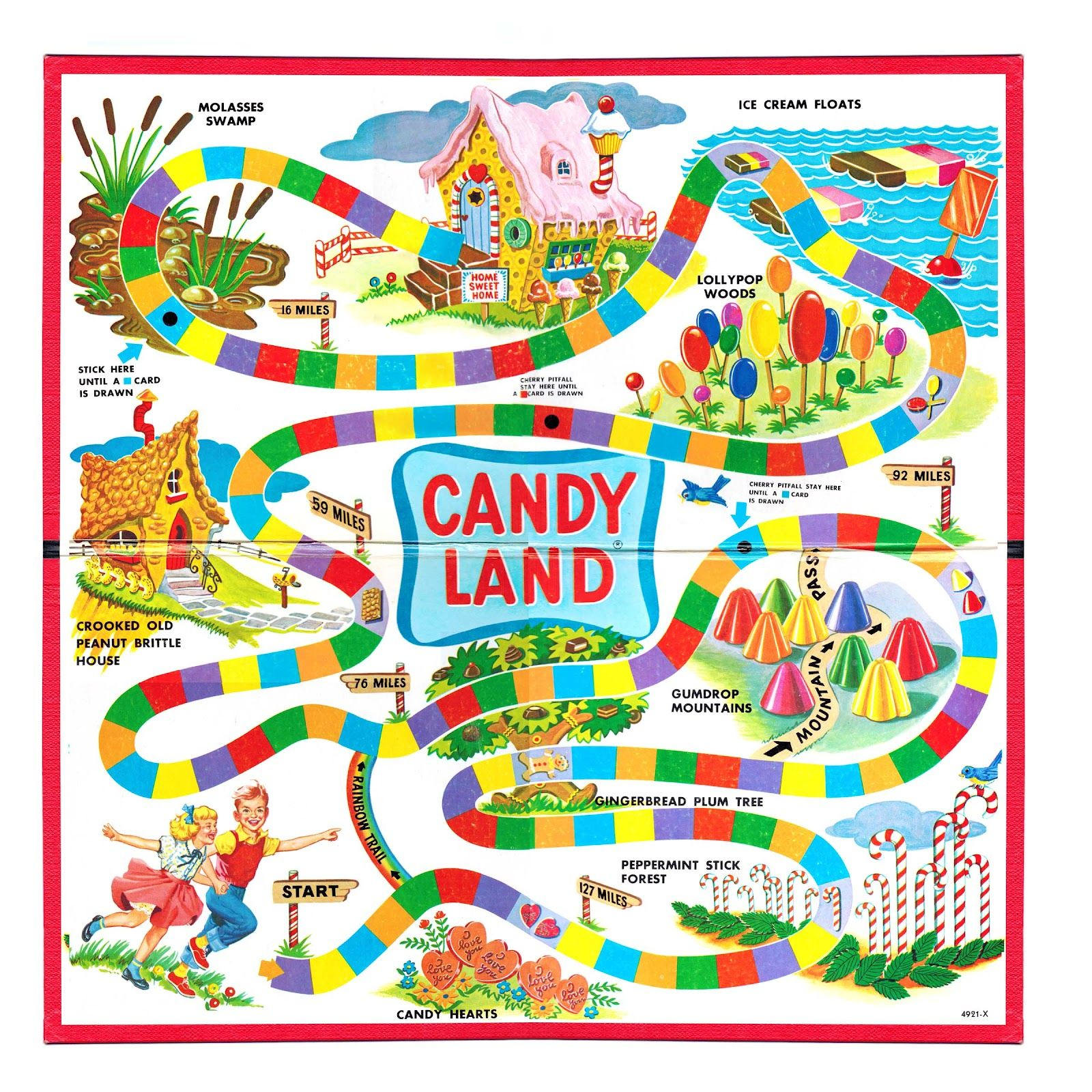 Blank Candyland Template