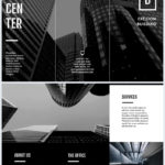 Brochure Templates Black And White
