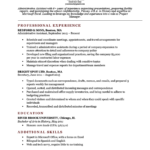 Resume Templates Basic