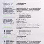 Resume Templates Docs
