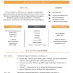 Resume Templates Engineering