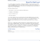 Blank Legal Document Template