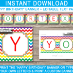 Banner Templates Editable