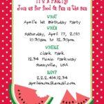 Birthday E Invitation Templates Free