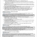 C Level Resume Samples
