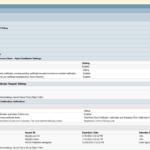 Certificate Template 802.1x