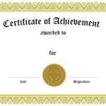 Grade 8 Graduation Certificate Templates