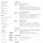 Resume Templates C