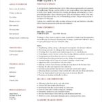 Resume Templates Hair Stylist
