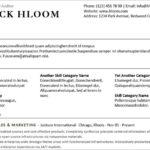 Resume Templates Hloom