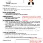 Resume Templates Jobstreet