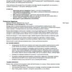 Resume Templates Sales