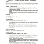 Resume Templates for Journalists