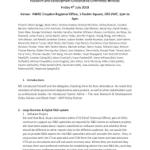 Hmrc R&D Report Template
