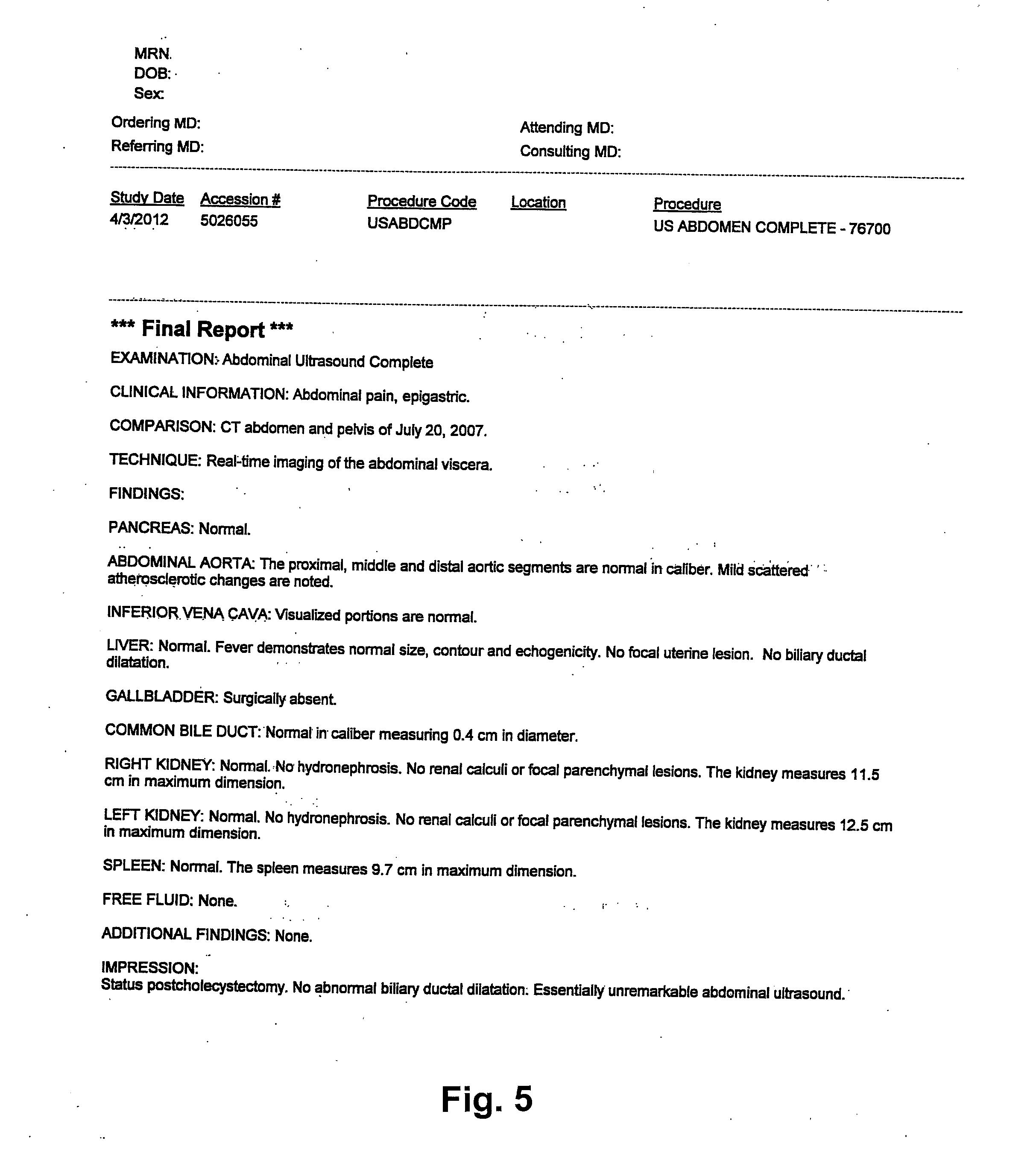 Lumbar X Ray Report Template