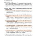 M&E Report Template Doc