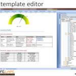Report Template Editor