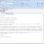 Report Template Email