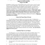 Report Template Engineering