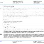 Report Template Website