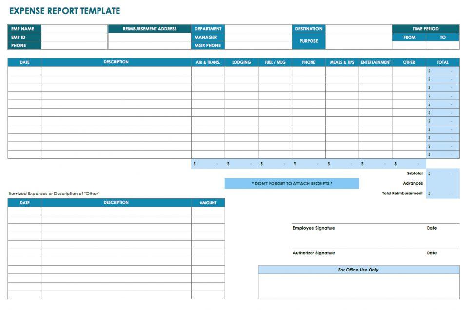 Report Template Xls