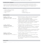 Resume Templates Medical