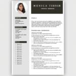Resume Templates Microsoft Word Free