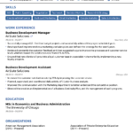 Resume Templates No Sign Up