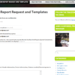 Report Request Template