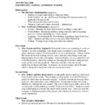 Report Template College
